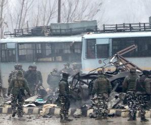 37 CRPF Soldiers Die: J&K Suicide Bomb
