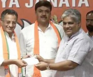 Two SP Leaders Surendra Singh Nagar, Sanjay Seth Joined BJP