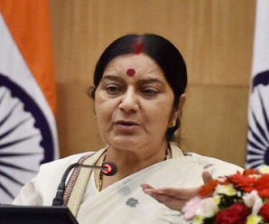 'First Lesson' Sushma Swaraj taught to Modi