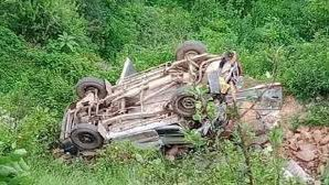 School bus collapsed in Tehri Garhwal, signs of major accident