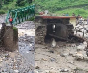 Cloudsburst in Chamoli and Tehri district of Garhwal, people's homes were washed away, some people also confirmed dead