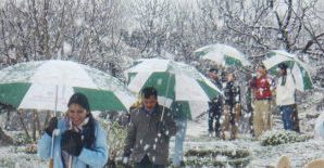 The Meteorological Department has forecast rain and snowfall in the state from today.
