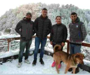 MS Dhoni returned after spending a few days in Mussoorie…