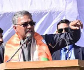 Chief Minister Trivendra Singh Rawat's big statement on the protest against the CAA, said – Outsiders are spoiling the atmosphere of Uttarakhand…