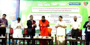 Ban removed from Patanjali's coronil drug….