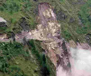 Joshimath: Landslide near Pipalkoti on Badrinath Highway…
