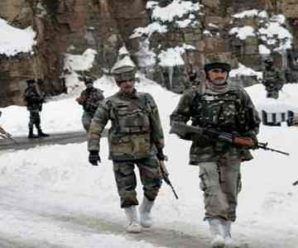 Chinese army retreated into Galvan valley…