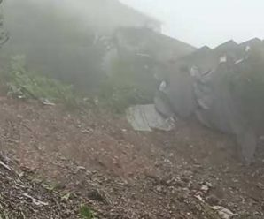 Mussoorie Dehradun road blocked due to heavy landslide …