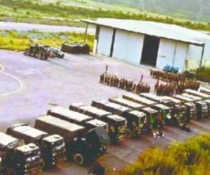 Indian Army engaged in making Chinyalisaur Airport a major base camp in ongoing dispute with China…