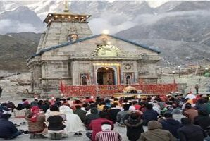 The number of visitors in Kedarnath has crossed 50 thousand.