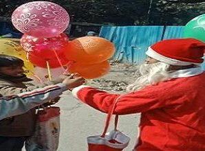 Dehradun: Christmas celebrated with simplicity.