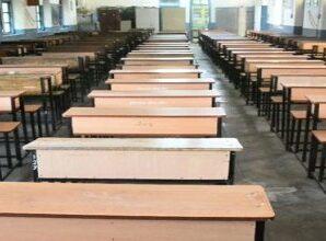 Seats remain vacant in large classes of Rajiv Gandhi Navodaya Vidyalaya for years.