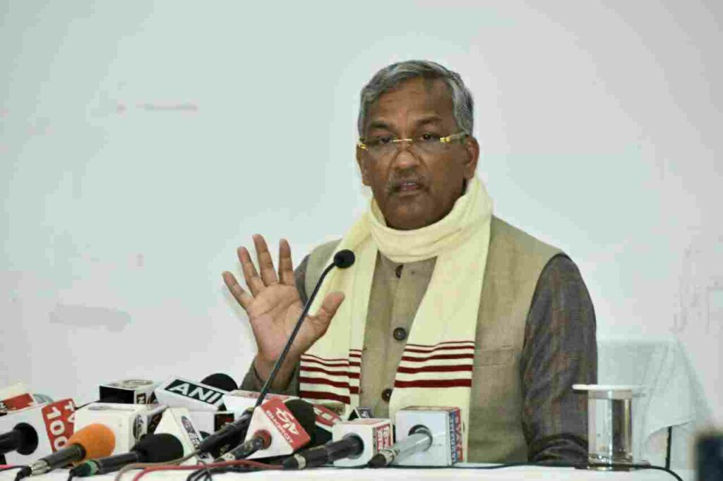 CM Trivendra met JP Nadda amid speculation of leadership change in Uttarakhand.