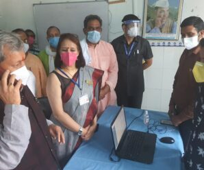 Chief Minister Mr. Tirath Singh Rawat inspected the Covid Care Center in Barkot on Saturday.