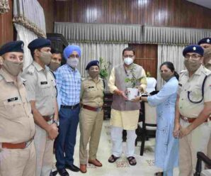 Members of PPS Association met Chief Minister, requested for cadre review, plant instead of bouquet