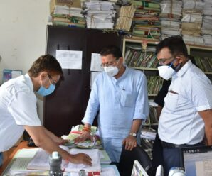 Chief Minister Shri Pushkar Singh Dhami inspected various sections of the Secretariat on Wednesday.