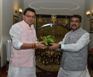 CM Dhami requested the approval of Kendriya Vidyalayas in Narendra Nagar and Kotdwar, the Chief Minister made a courtesy call on the Union Education Minister.