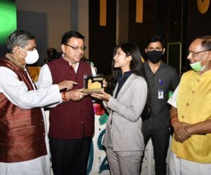 Chief Minister Dhami on Tuesday participated in the annual function of The Indian Public School located in Ranjhawala (Selakui) as the chief guest.